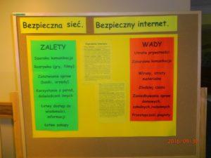 """""""Bezpieczna sieć, bezpieczny internet"""""""
