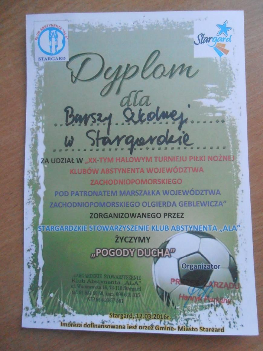 XX Halowy Turniej Piłki Nożnej Klubów Abstynenta Województwa Zachodniopomorskiego