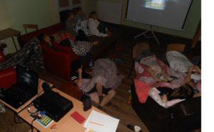 Wieczór filmowy w bursie