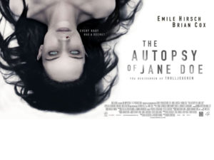 "Projekcja filmu pt.: ""Autopsja Jane Doe"""