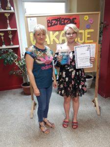 Konkurs na najlepszego czytelnika roku szkolnego 2018/2019